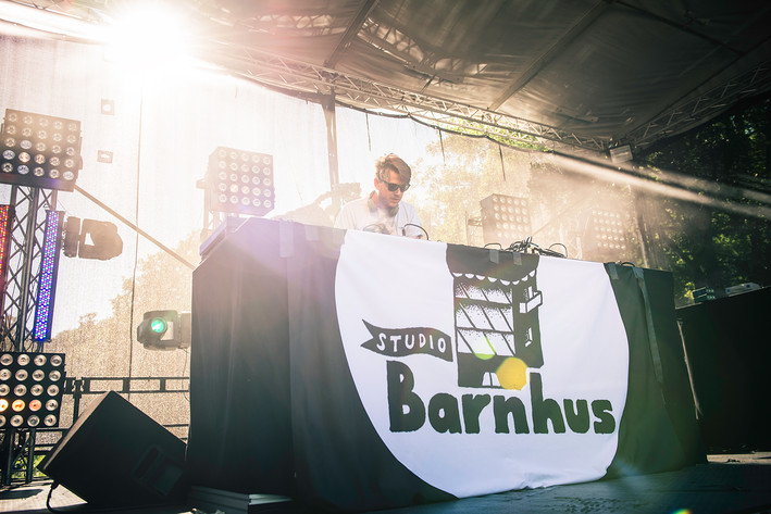 2015-08-14 - Axel Boman spelar på Way Out West, Göteborg