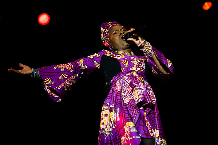 2015-08-15 - Angélique Kidjo performs at Malmöfestivalen, Malmö