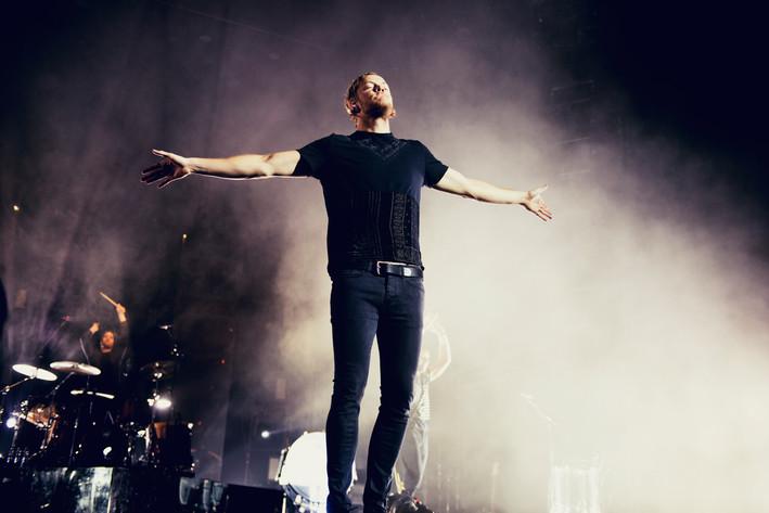 2015-10-21 - Imagine Dragons spelar på Globen, Stockholm
