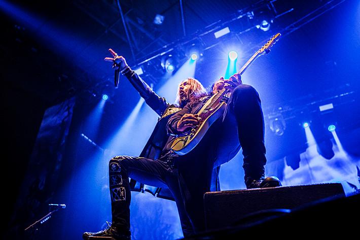 2015-11-28 - Hammerfall spelar på Scandinavium, Göteborg
