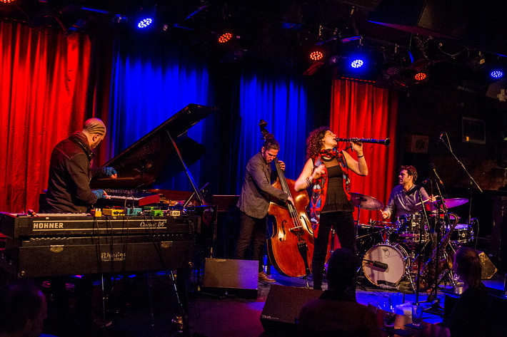 2016-03-16 - Anat Cohen Quartet performs at Fasching, Stockholm