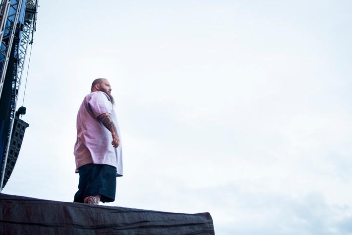 2016-07-01 - Action Bronson performs at Bråvalla, Norrköping