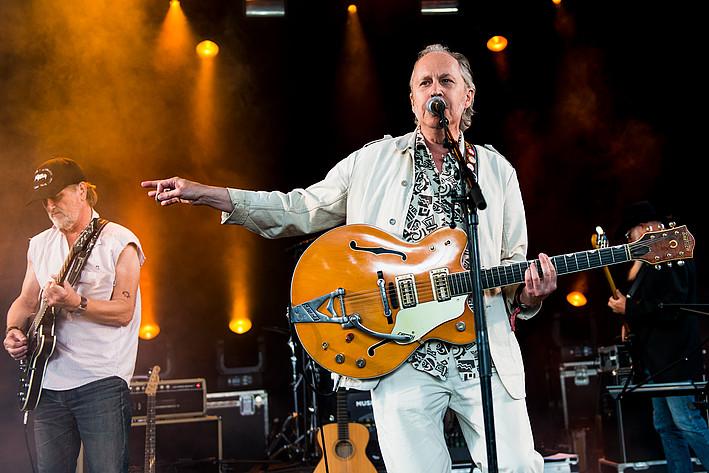 2016-07-08 - Anders F Rönnblom performs at Peace & Love, Borlänge