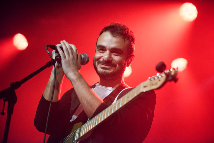 2016-10-09 - Ali Azimi & The Need performs at Kägelbanan, Stockholm