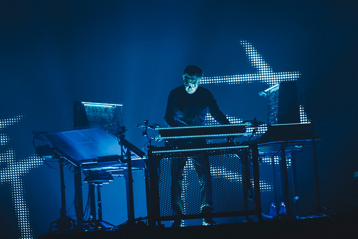 2016-10-29 - Jean Michel Jarre performs at Hovet, Stockholm