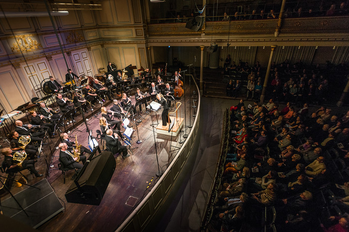 2017-01-29 - Blåsarsymfonikerna spelar på Musikaliska, Stockholm