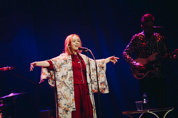 2017-03-20 - Lisa Ekdahl spelar på Cirkus, Stockholm