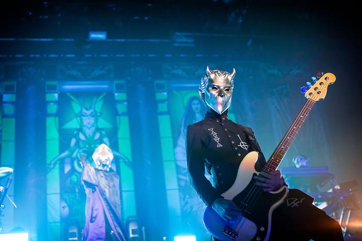 2017-04-28 - Ghost spelar på Hovet, Stockholm