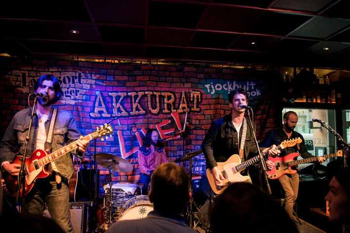 2017-05-14 - The Band of Heathens spelar på Akkurat, Stockholm