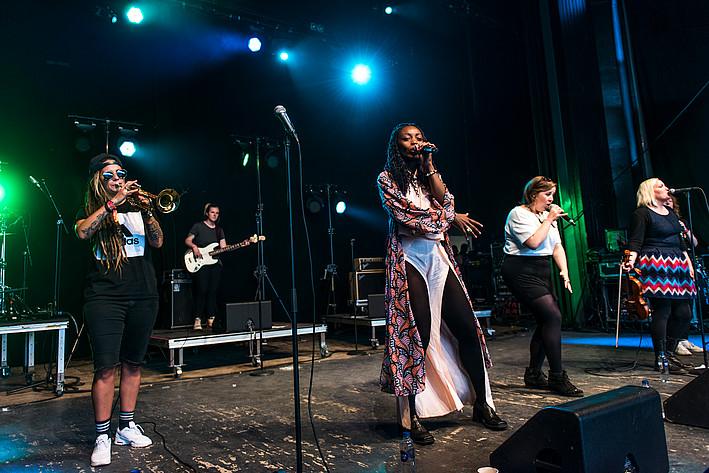 2017-07-06 - Sallyswag performs at Peace & Love, Borlänge