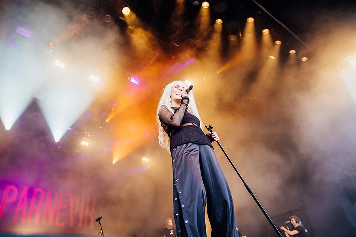 2017-07-14 - Peg Parnevik performs at Liseberg, Göteborg