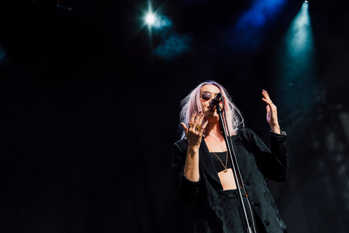 2017-09-01 - Ana Diaz performs at Popaganda, Stockholm