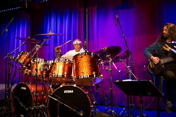 2018-02-05 - Billy Cobham Band spelar på Fasching, Stockholm