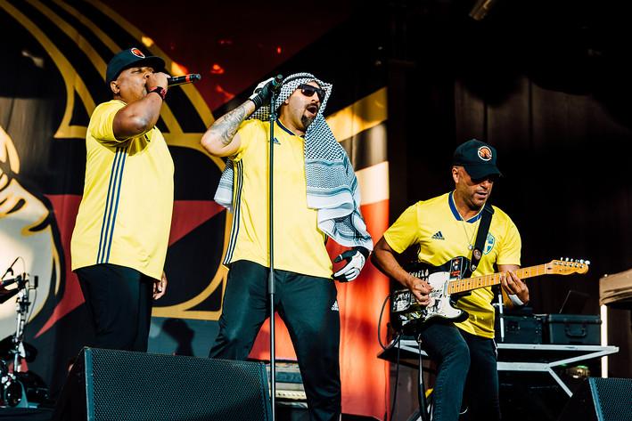 2018-06-26 - Prophets of Rage spelar på Gröna Lund, Stockholm