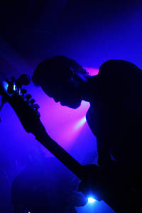2007-05-04 - Mustasch spelar på Lotus, Eskilstuna