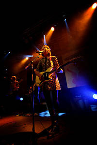 2008-01-26 - Britta Persson performs at Debaser Medis, Stockholm
