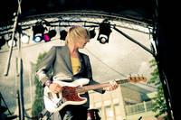 2008-06-27 - Kristian Anttila spelar på Peace & Love, Borlänge