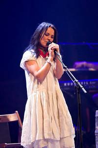 2008-10-21 - Sophie Zelmani spelar på Cirkus, Stockholm