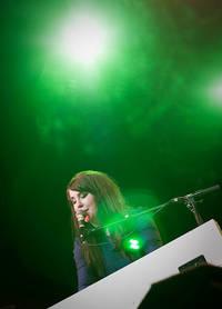 2009-04-17 - Miss Li spelar på Gamla Teatern, Östersund