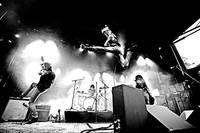 2009-06-12 - The (International) Noise Conspiracy spelar på Stora Skuggan, Stockholm