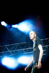 2009-06-25 - Lesra performs at West Coast Riot, Göteborg
