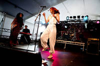 2010-07-02 - Noonie Bao spelar på Peace & Love, Borlänge