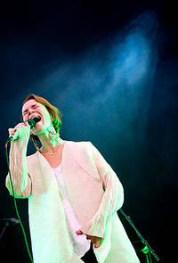 2011-08-13 - Anna Järvinen performs at Way Out West, Göteborg