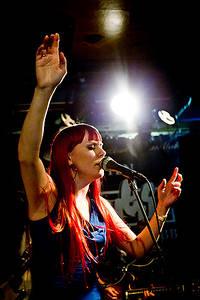 2012-02-18 - Heidi Solheim performs at ByLarm, Oslo