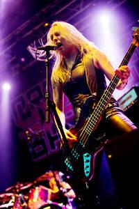 2012-07-07 - Crucified Barbara spelar på Getaway Rock, Gävle