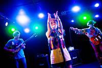 2012-11-24 - Deerhoof spelar på Debaser Hornstulls Strand, Stockholm