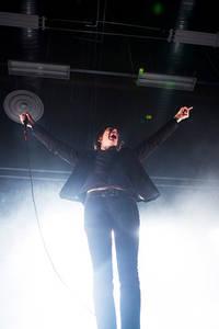 2012-12-15 - Refused spelar på Exel Arena, Umeå
