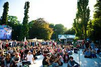 2013-08-09 - Områdesbilder performs at Way Out West, Göteborg