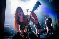 2016-07-16 - Frantic Amber spelar på Gefle Metal Festival, Gävle